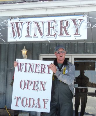 Archibald's Estate Winery, We're Open!