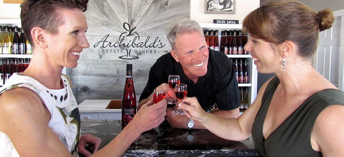 women wine tasting