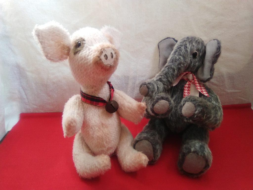 Pig & elenphant
