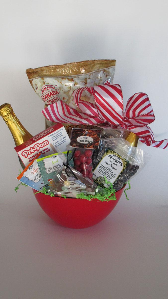 Family Fun Night Gift Basket