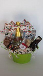 Good Christmas Morning Gift Basket