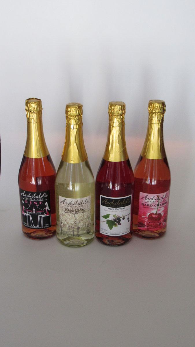 Hard Cider Sampler Gift Basket
