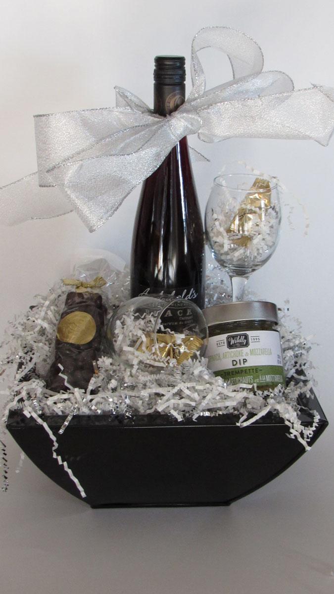 Simple Indulgence Gift Basket