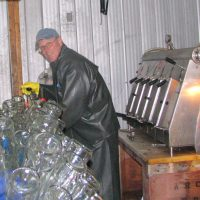 Fred bottling cider