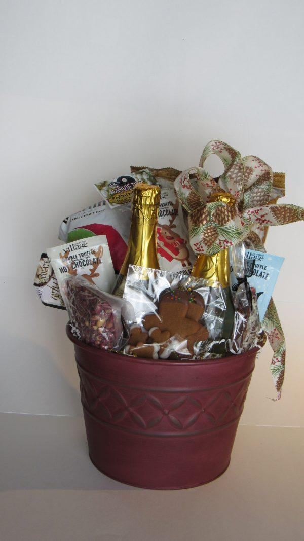 Family Night Gift Basket