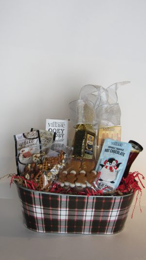 Good Christmas Morning Gift Basket