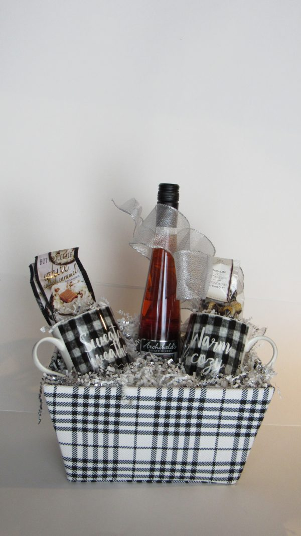 Let's Get Cozy Gift Basket