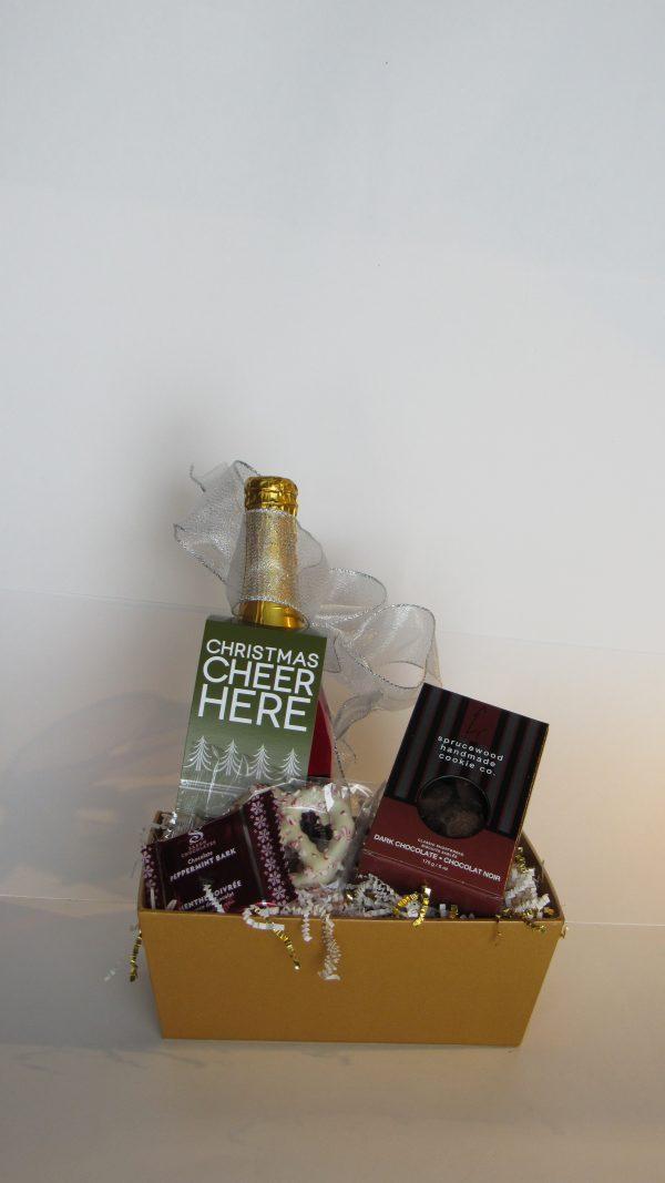 Mini Christmas Cheer Gift Basket