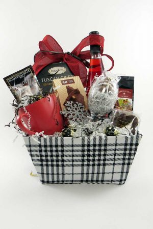 Staycation Supplies Gift Basket